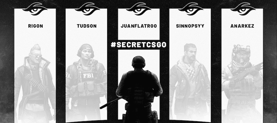 Team Secret announces their new CS:GO roster