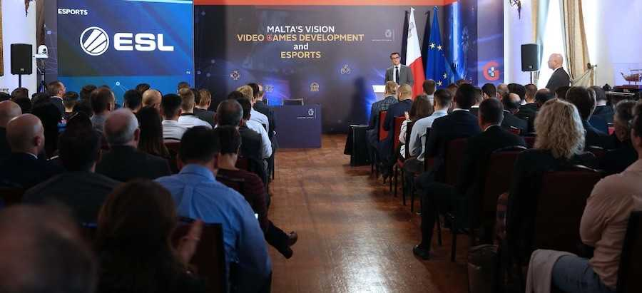 Malta's Vision for video games development and esports