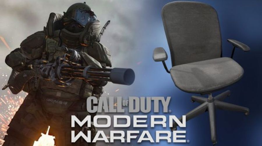 Deadly chair in-game bug in Modern Warfare