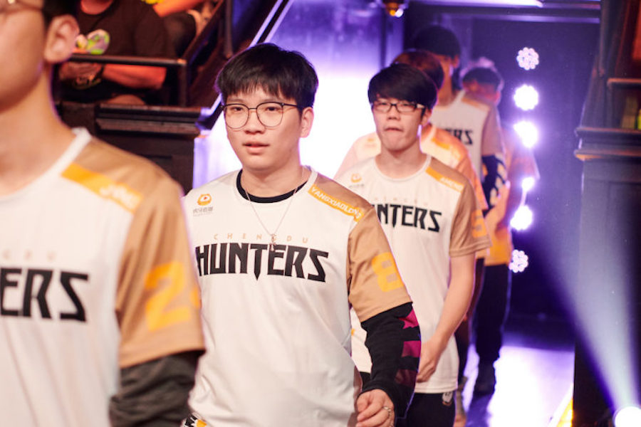 YangXiaoLong and Jiqiren part ways with Chengdu Hunters