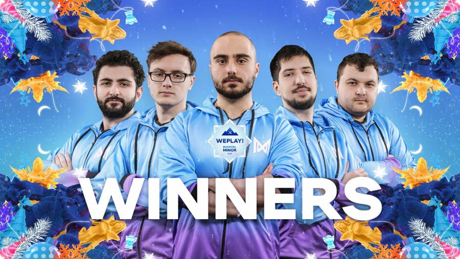 Nigma defeat RNG to clinch WePlay! Bukovel Minor title