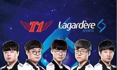 Lagardère Sports partners with T1 as exclusive commercial agent