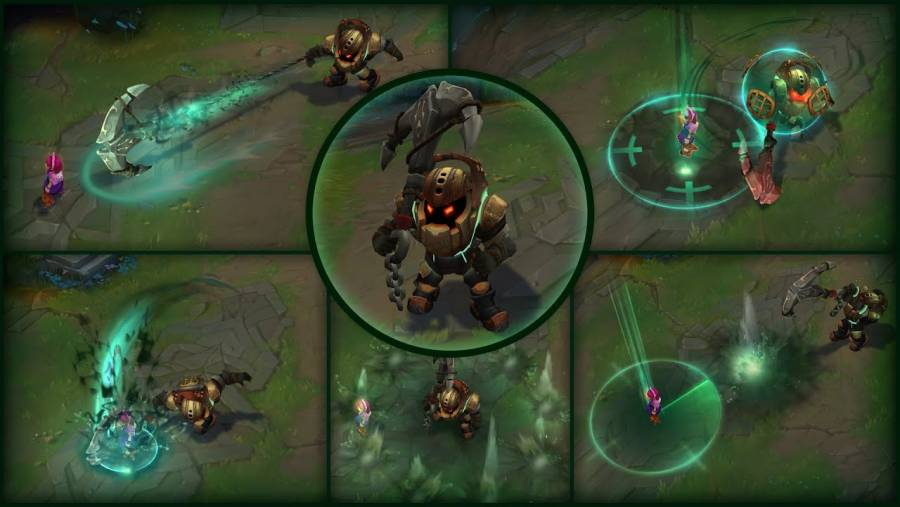 Annie and Nautilus set to get a VFX update in League of Legends
