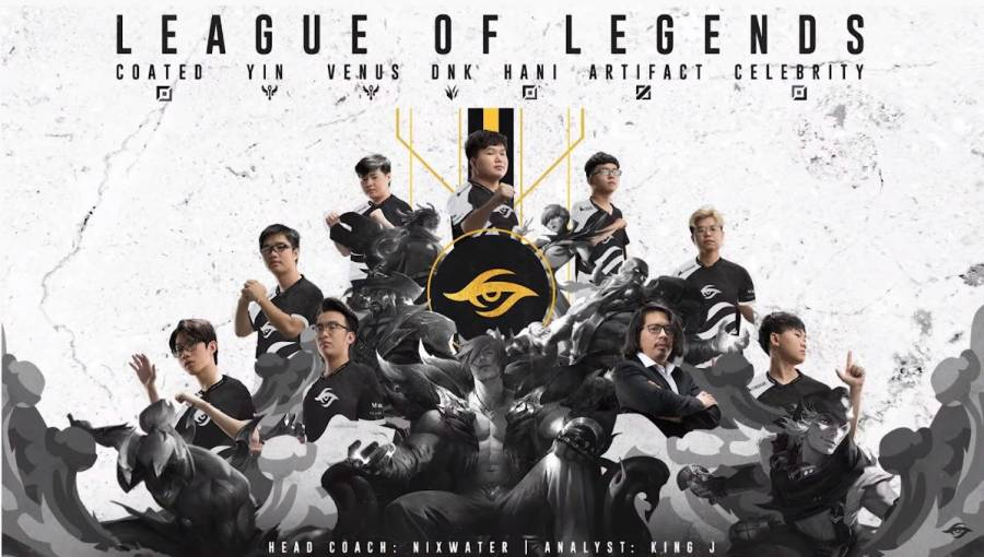 Team Secret ประกาศทีม League of Legends