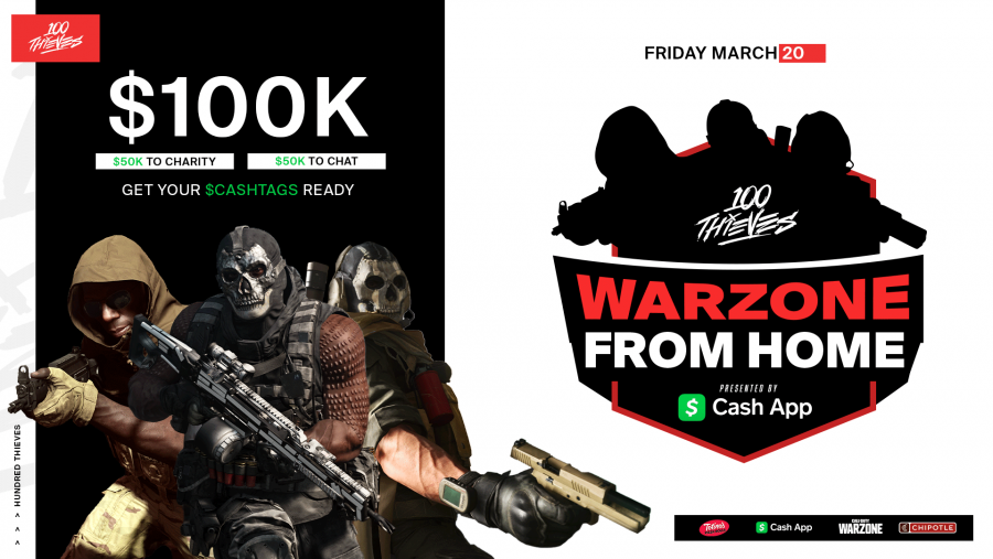 Twitch, 100 Thieves, Boom TV and KEEMSTAR announce CoD: Warzone tournaments