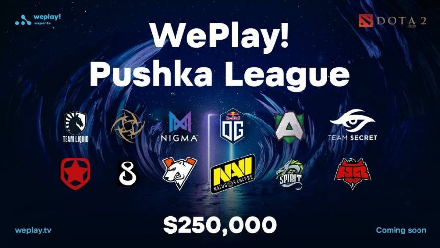 WePlay! announce Pushka League