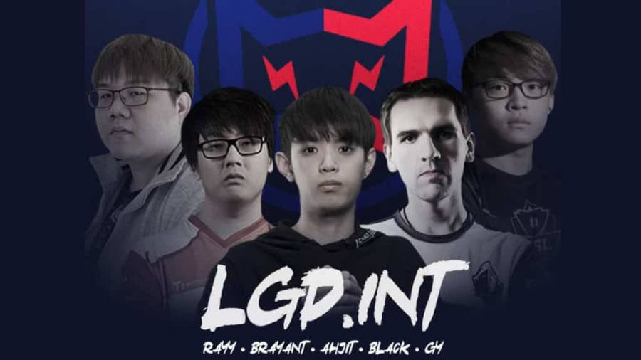 Ray, Black ^ och AhJit går med i LGD International