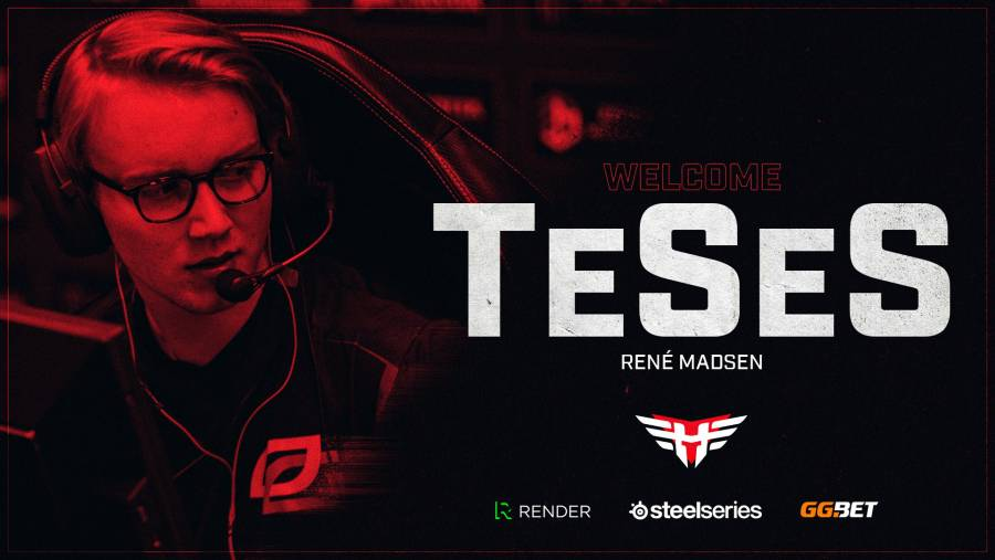 Heroic sign TeSeS to their CS:GO roster