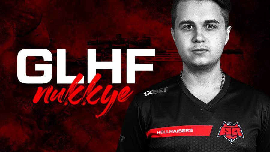 Nukkye announces depatrute from HellRaisers