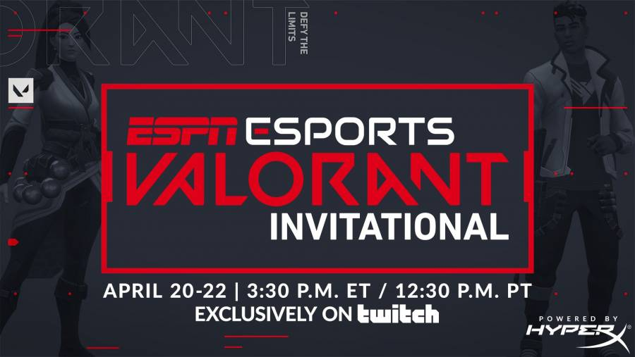 ESPN will host VALORANT Invitational with teams from seven esports titles