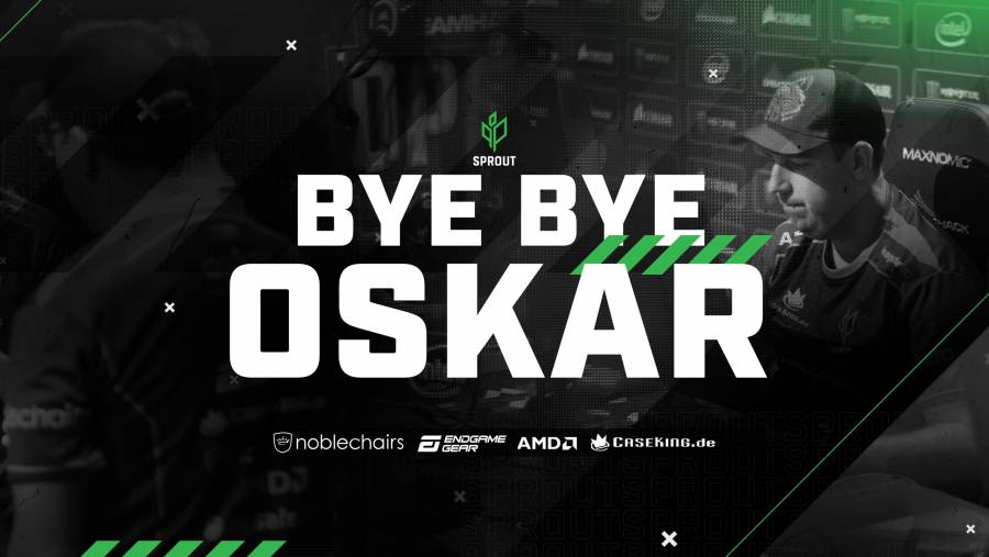 Oskar leaves Sprout's CS:GO team