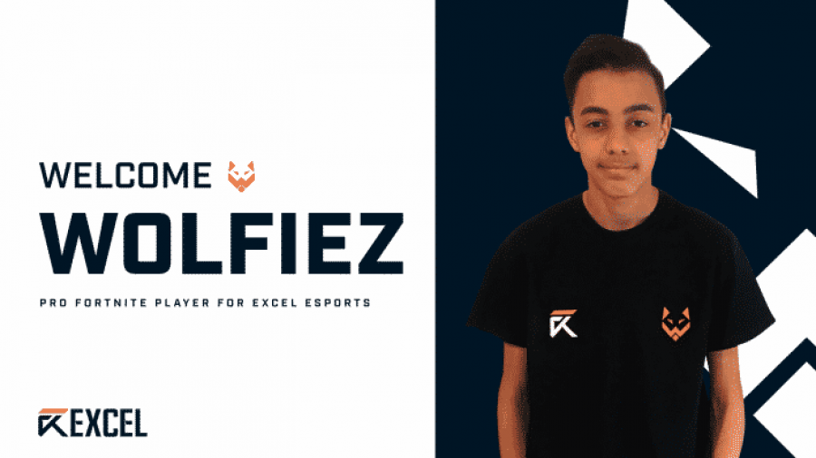 Excel Esports sign Fortnite pro Wolfiez