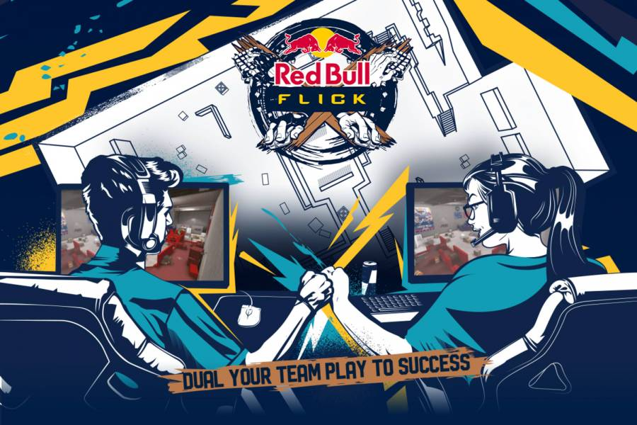 Red Bull and FACEIT announce 2v2 CS:GO tournament - Red Bull Flick