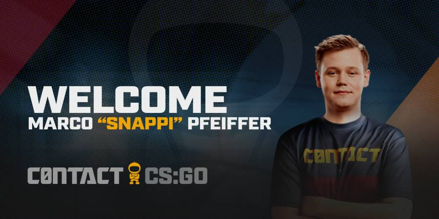 C0ntact sign Snappi to their CS:GO roster