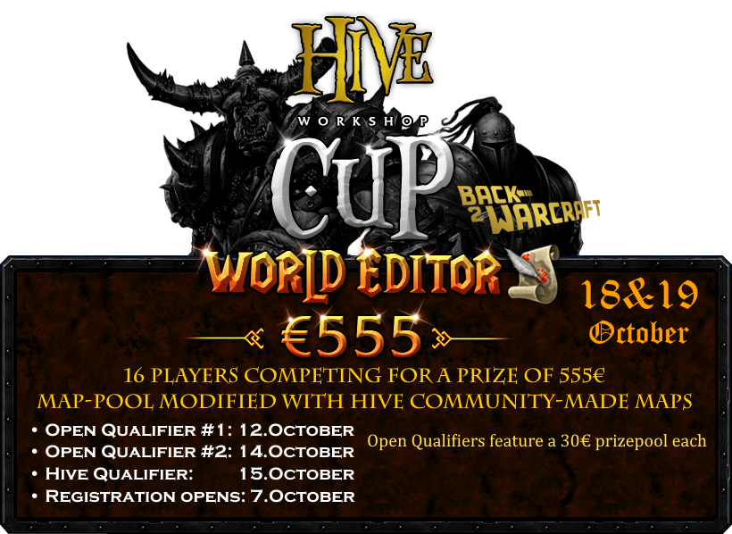 Hive Workshop Cup Open Qualifier 2